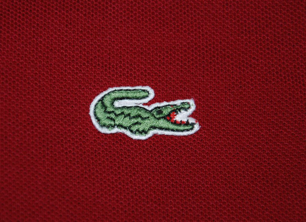 Vintage Lacoste Devanlay 5191l Mens Polo Shirt Red Short Sleeve 4 M Mens Polo Shirts Red Shorts Lacoste