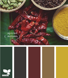Quot Spiced Autumn Quot Color Pallette Like This For The Kitchen