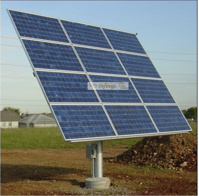 Wattsun Az 225 12 Kd 315gx Lpb Wattsun Az 225 Solar Tracker For 12 Kyocera 315w Kd 315gx Lpb Panels Solar Panels Solar Solar Tracker