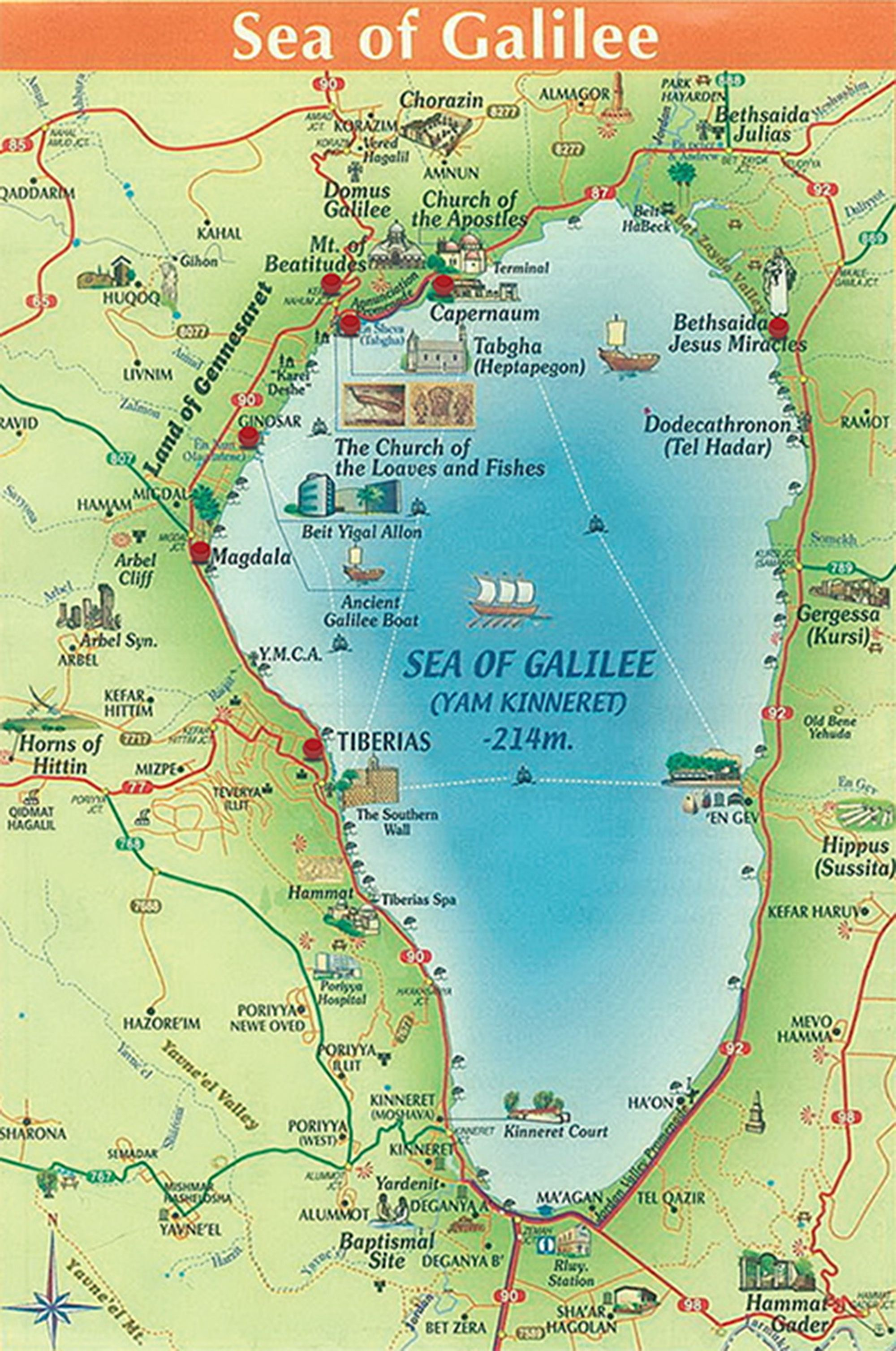 Maps Of The Sea Of Galilee Bible Mapping Bible Lessons Bible