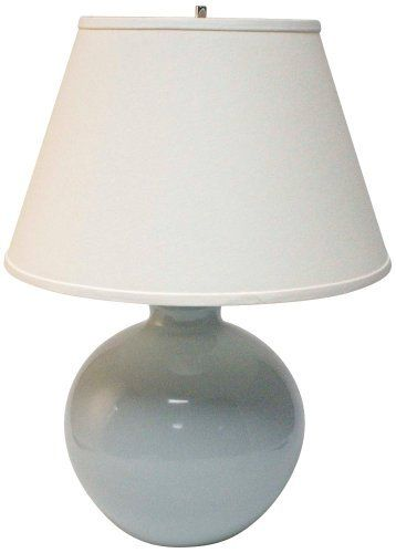 Haeger Potteries Mist Large Bristol Ceramic Table Lamp By Haeger Potteries Http Www Amazon Com Dp B006nk434k Ref Cm Sw R Pi Dp Table Lamp Ceramic Table Lamp