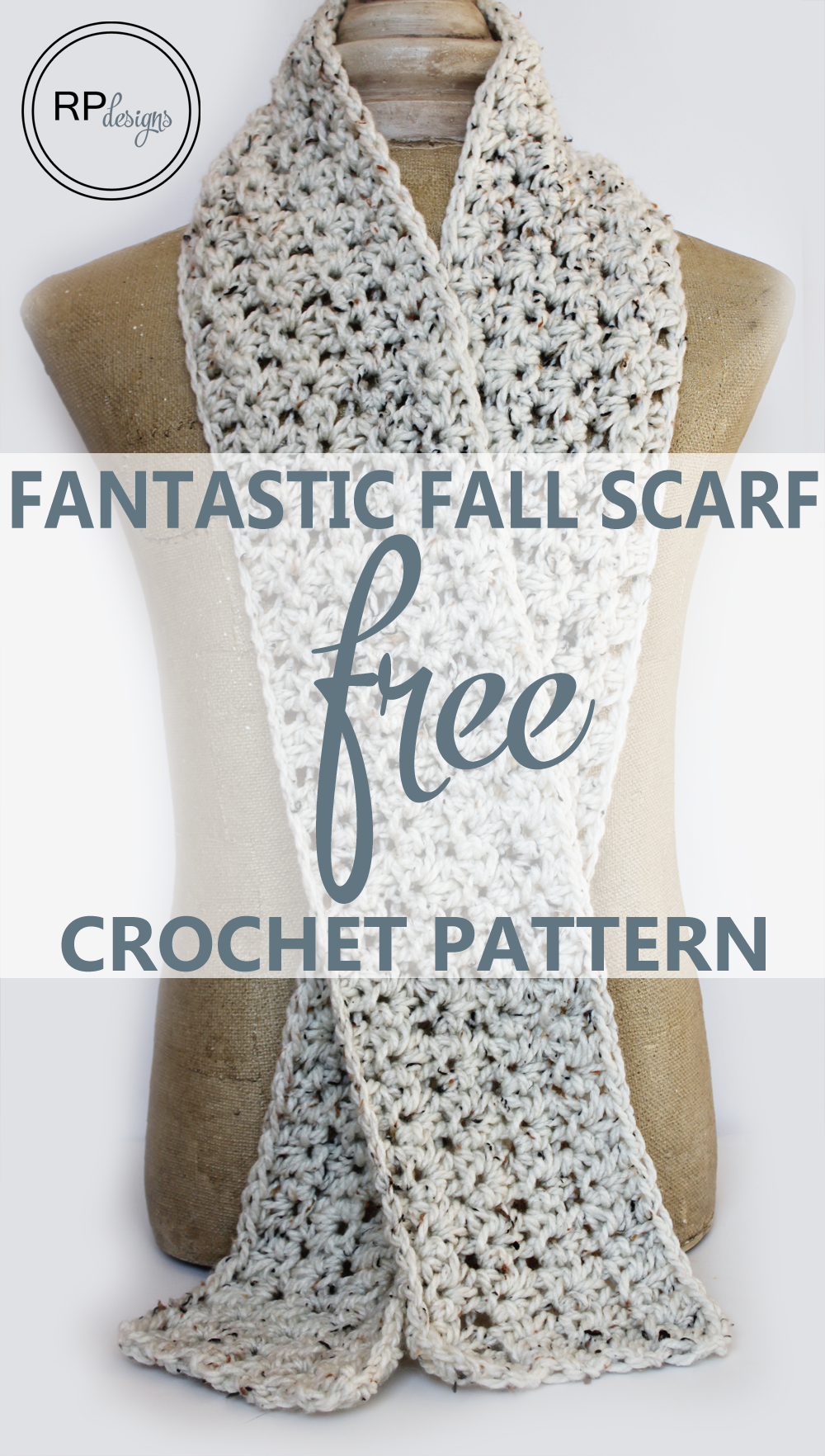 Fantastic Fall Scarf - Crochet Pattern - Rescued Paw Designs ...