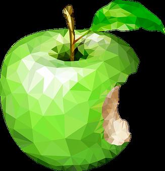 Dessin Pomme Verte 1