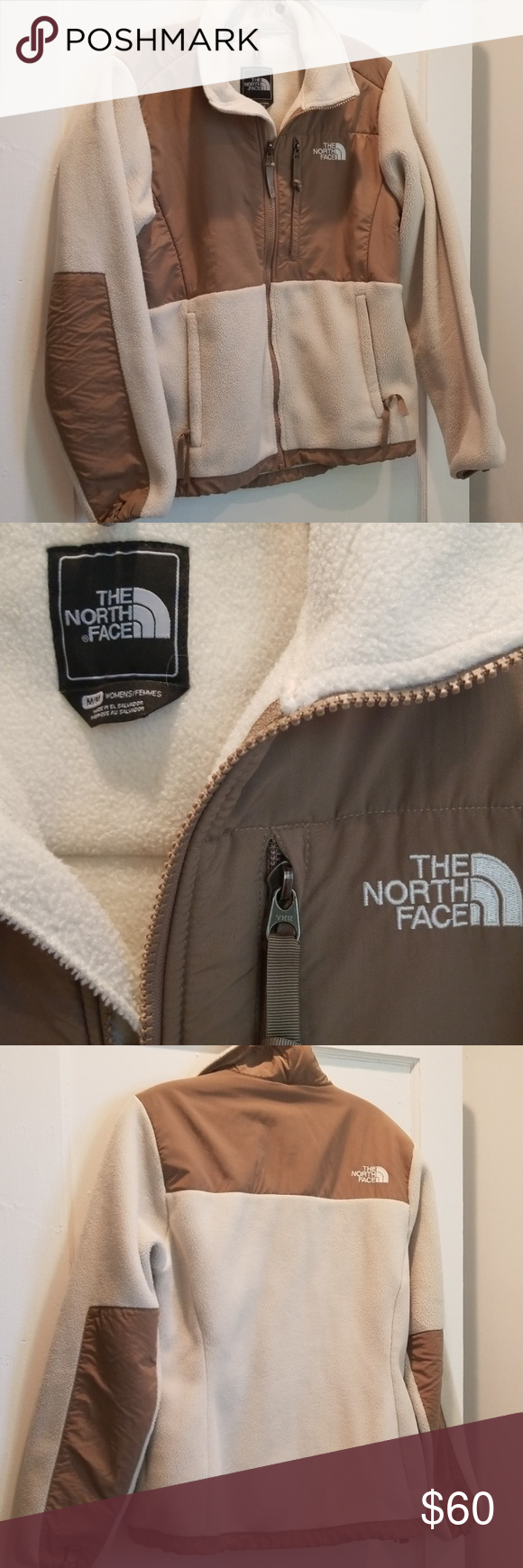 The North Face Denali Fleece Full Zip In Tan Cream The North Face North Face Jacket Clothes Design [ 1740 x 580 Pixel ]