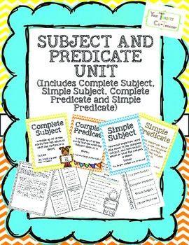worksheet. Simple Subject And Simple Predicate Worksheet. Grass ...