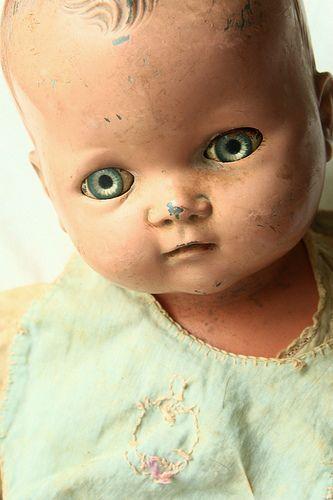 baby doll circa 1937 close up