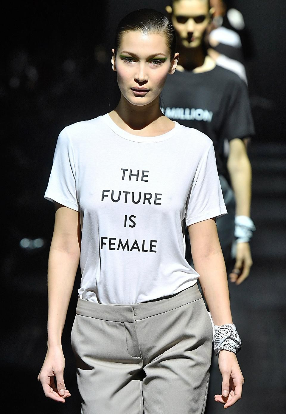 Designers Who Made Political Statements At New York Fashion Week 2017 Feminist Fashion New York Fashion Week 2017 Girl Power T Shirt