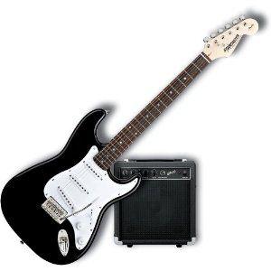 Fender Starcaster Strat Electric Guitar Starter Pack Black Http Www Amazon Com Fender Starcaster Electric Guita Electric Guitar Fender Starcaster Guitar