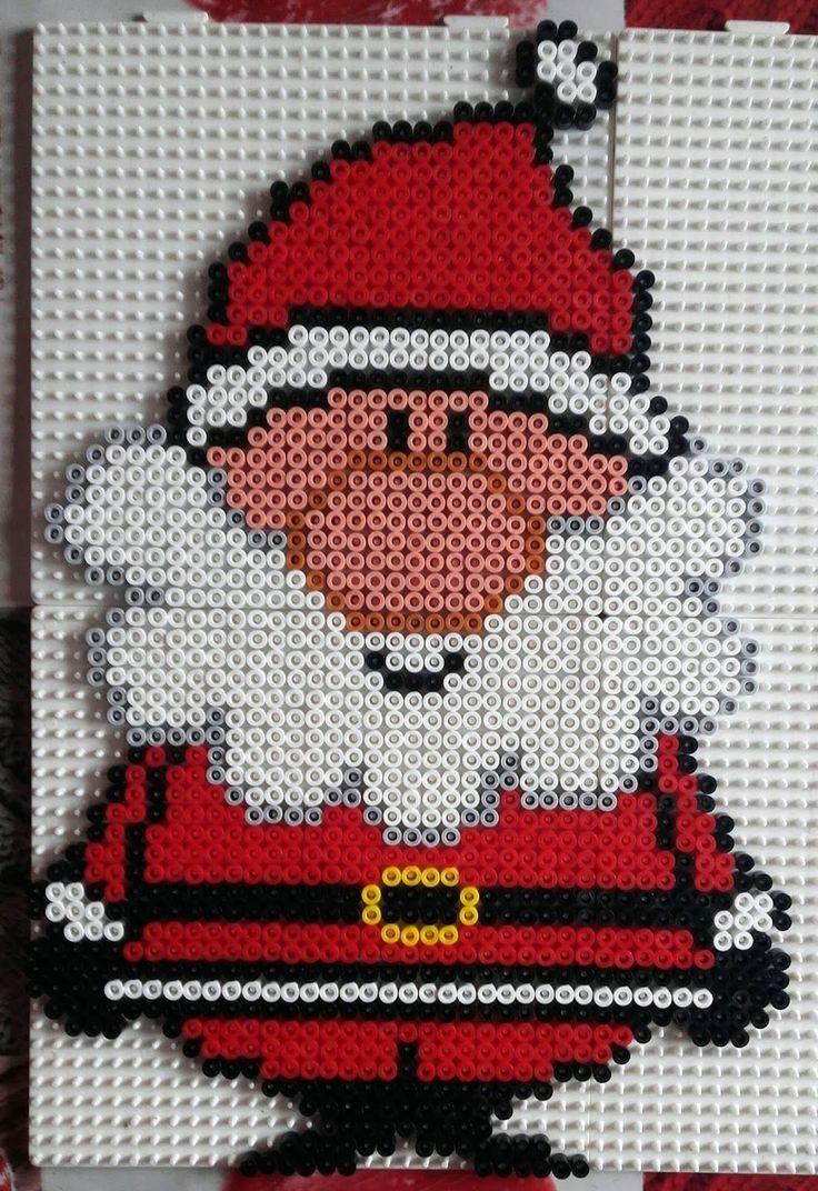 Un Autre Modèle De Père Noel Pour Ce Modèle 1470 Perles