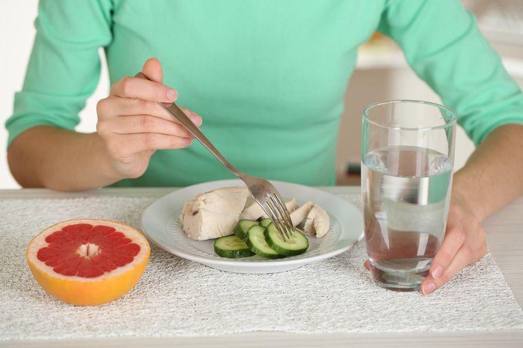 норма питания для похудения