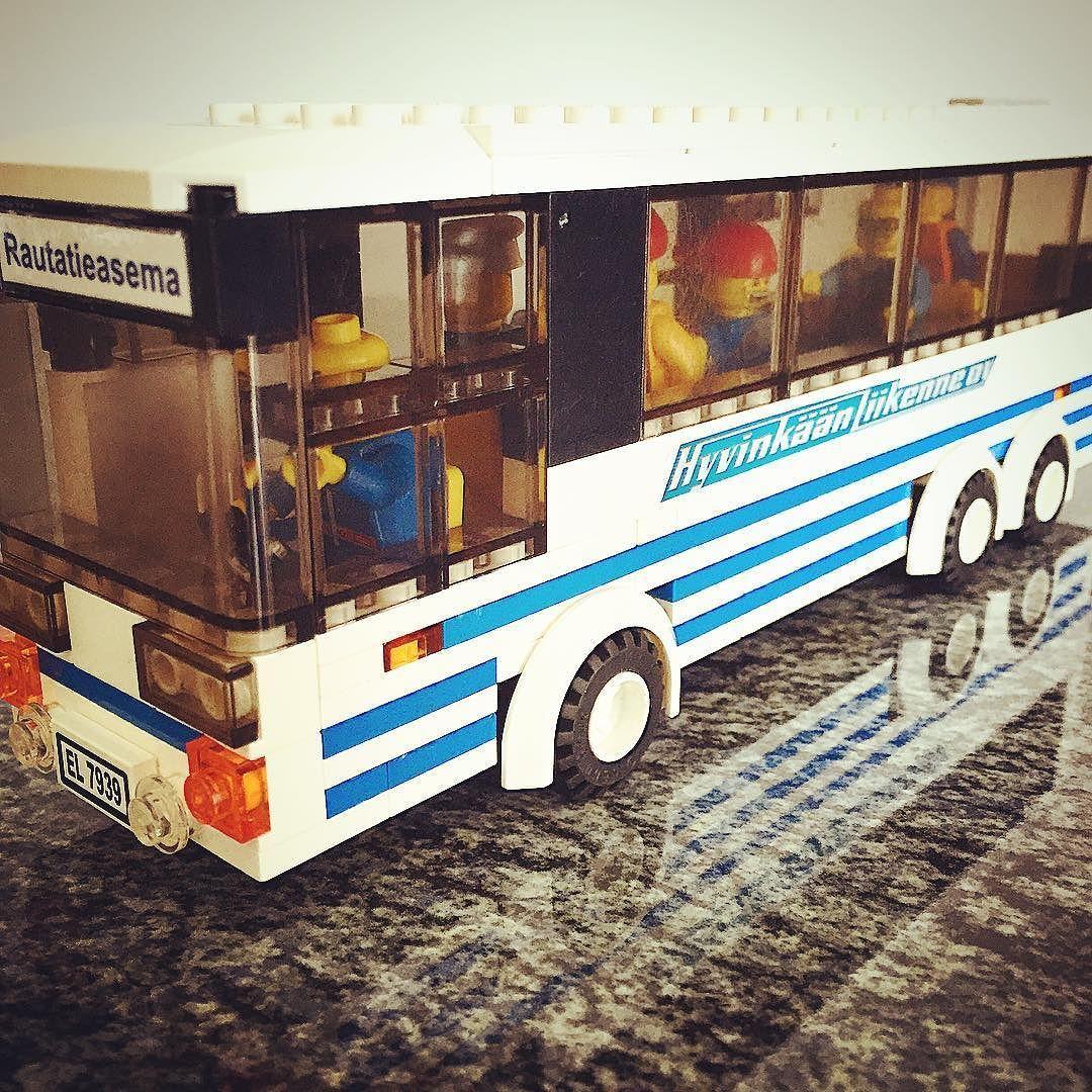 #hyvinkaanliikenne #bussi #lego #legos #legocity #legoideas #legostagram #legophotography #legobricks #modifiedlego #legobus #hyvinkää #hyvinkäänliikenne by legojunia