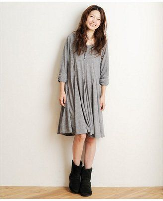 ff05c37735f7d Relaxing dress   ShopStyle   UNITED ARROWS green label relaxing  mielle     MIELLE Cワンピース