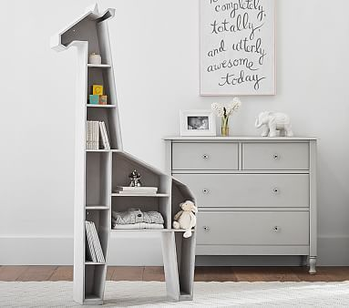 Giraffe Shelf Baby Room Shelves Themes