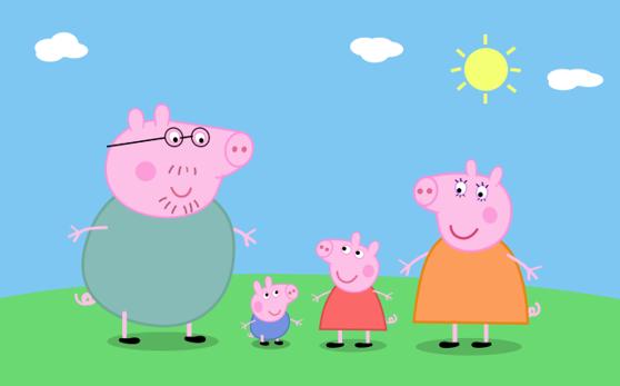 Quarto Infantil Faca A Decoracao Da Peppa Pig Papel De Parede