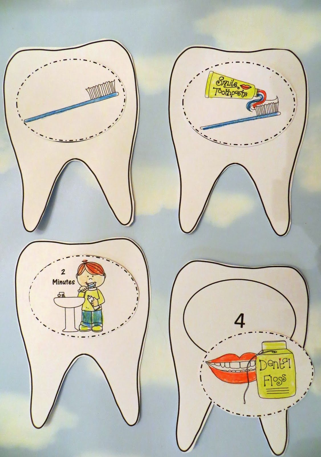 Dental Health Craft -- A 3D Tooth Brushing Craftivity by Robin ... acffa681f673