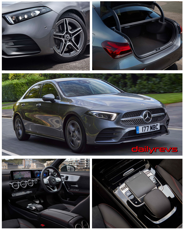 2019 mercedesbenz aclass sedan uk hd pictures specs