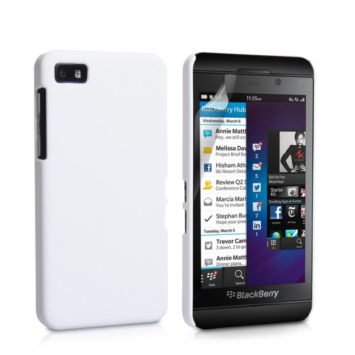 Blackberry Z10 Wallpapers : Blackberry Z10 White (With