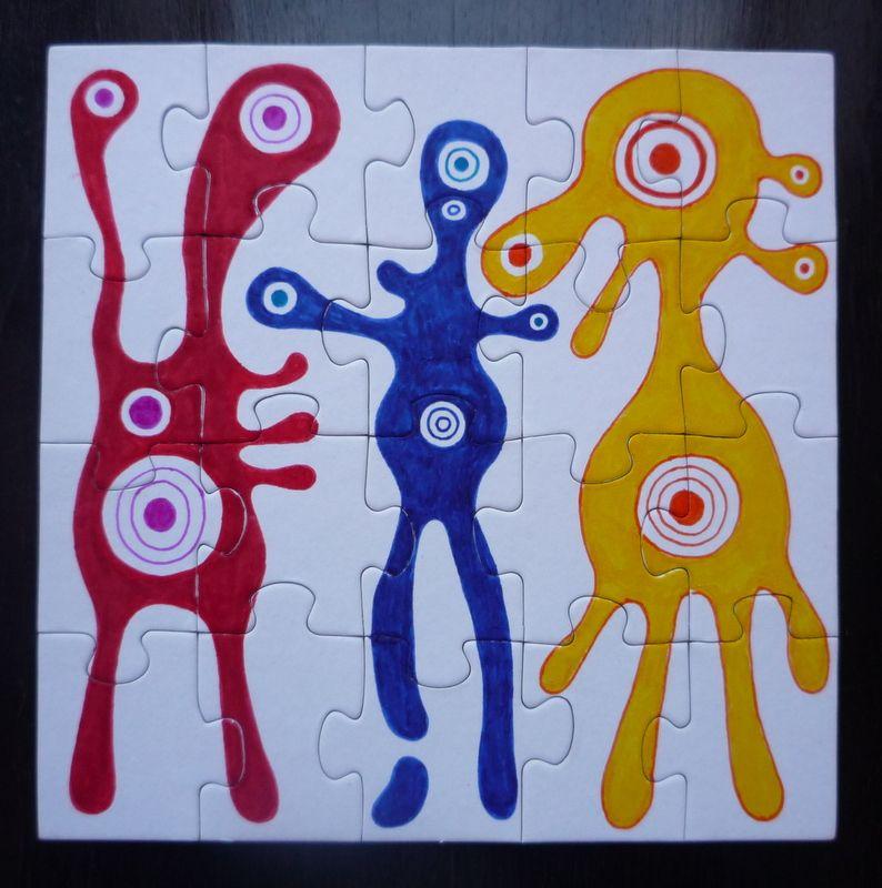 (c) Petra Kučerová, puzzle, 2013