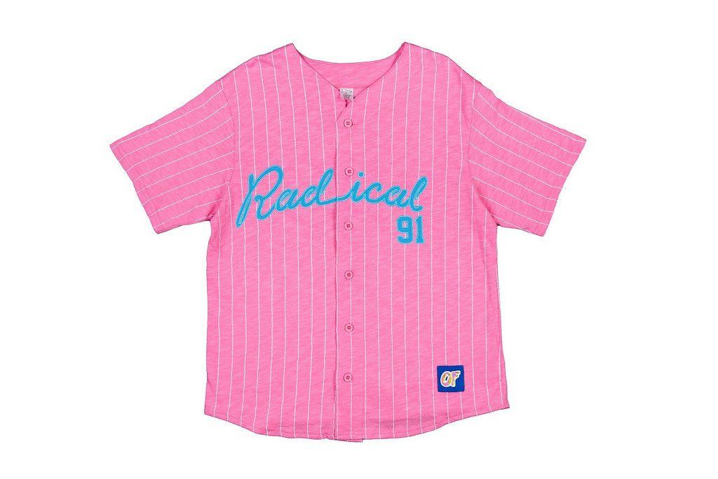 0d1ff2063 RADICAL BASEBALL JERSEY PINK