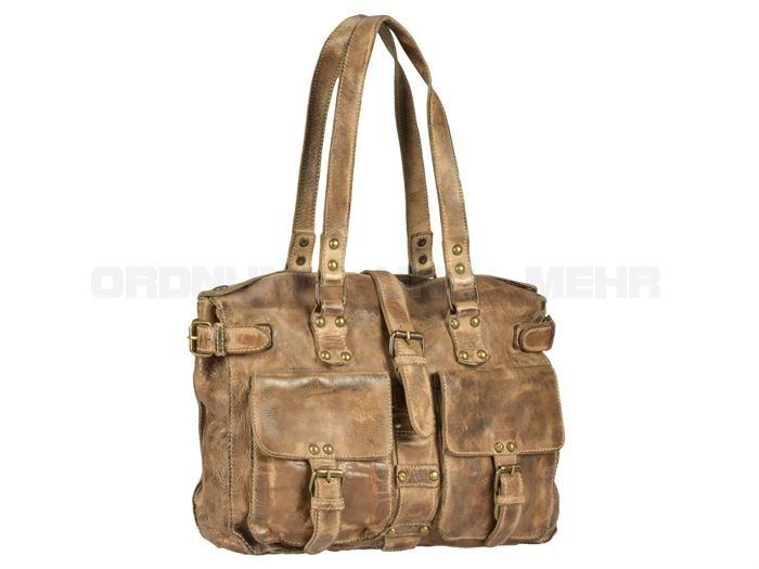 Billy The Kid - KATE - Leder Handtasche Shopper Damentasche - 5 Farben