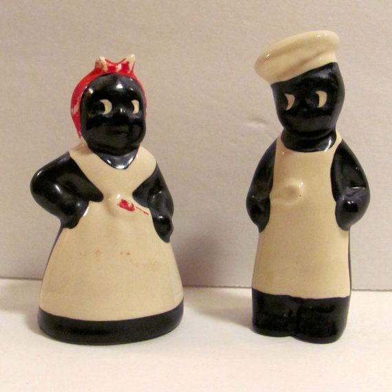 Hey, I found this really awesome Etsy listing at https://www.etsy.com/listing/190712588/vintage-black-americana-salt-and-pepper