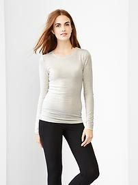 Pure Body long-sleeve tee. Grab thrilling discounts up to 40% Off at Gap using Discount and Voucher Codes.