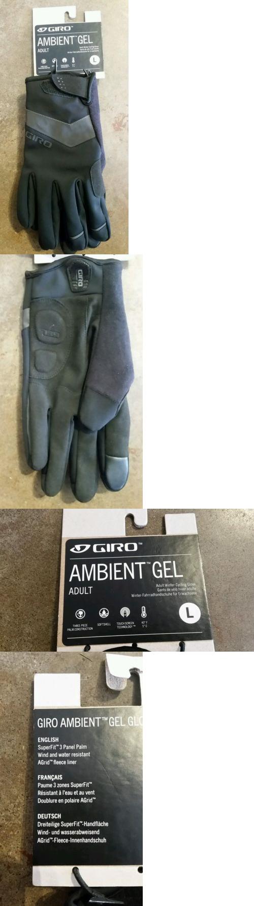 Gloves giro ambient gel full finger winter cycling gloves