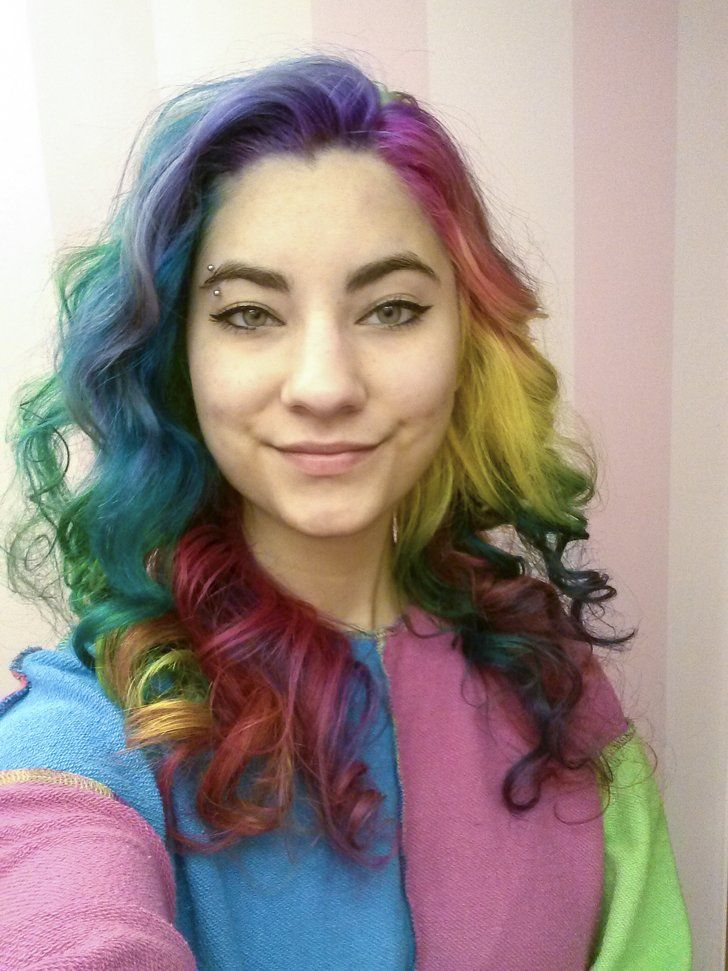Seussical Hair | Beauty Secrets | Rainbow hair, Bright hair