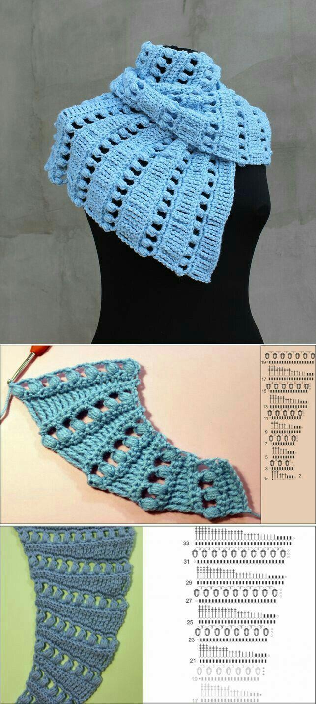 Häkelmuster Drachenschal | crochet chal | Pinterest | Crochet, Shawl ...