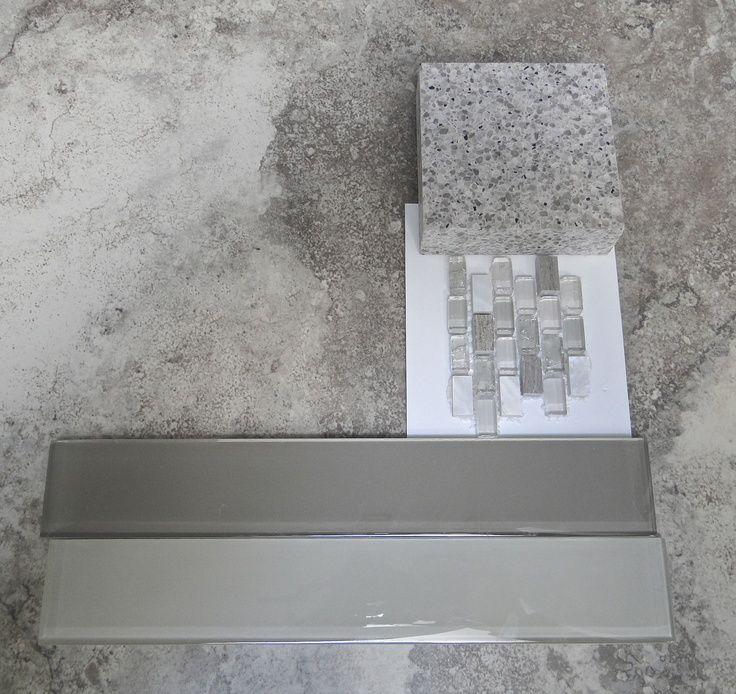 Updating Laminate Bathroom Cabinets: , Smokey Grey, Tile Ideas, Kitchen Backsplashes, Bathroom