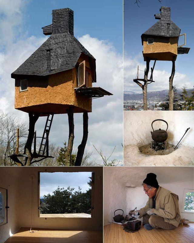 Takasugi An By Terunobu Fujimori Beautiful Tree Houses Tree House Architecture