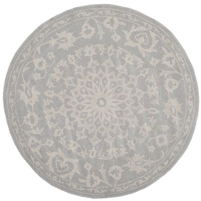 Found it at Wayfair - Bella Grey & Silver Area Rug