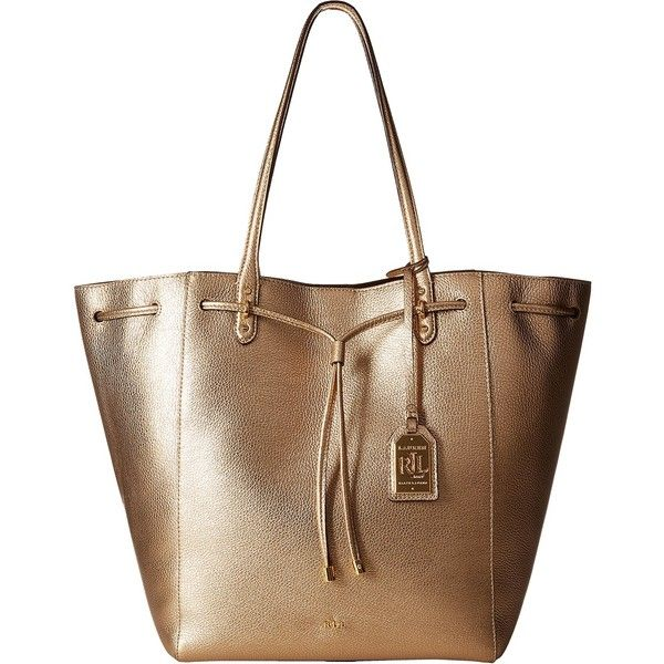 a53e8c28bb15 LAUREN Ralph Lauren Oxford Large Tote (Gold Mine) Tote Handbags ( 210) ❤