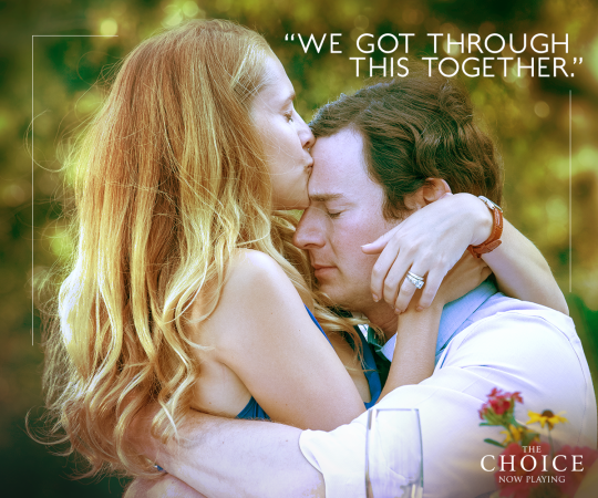 THE CHOICE - Based on the bestselling novel by Nicholas Sparks