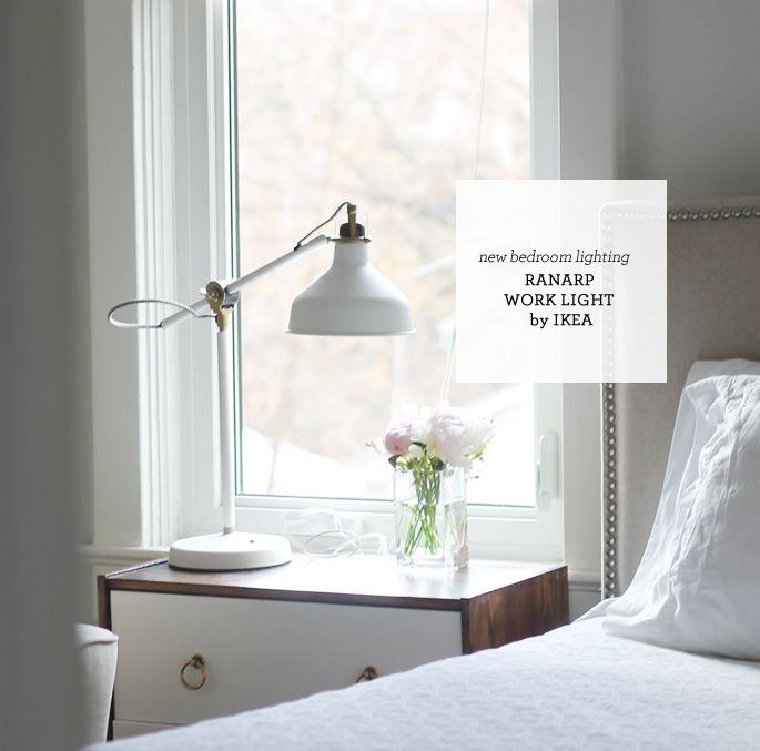 Bedroom Lamps Ikea: Aubrey & Lindsay's Little House Blog: Master Bedroom