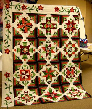 block of the month quilts | Block of the Month 2013 Fabrics