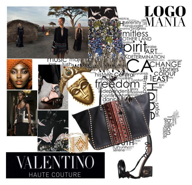 """""""valentino"""" by roxariaone ❤ liked on Polyvore featuring moda e Valentino"""