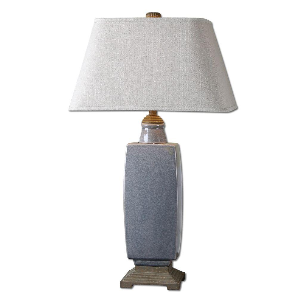 Uttermost Tilton Light Gray Ceramic Table Lamp Ceramic Table Lamps Lamp Master Bedroom Lamps