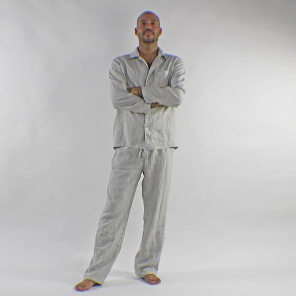 Men's Linen Pajamas Sets | A well, The o'jays and Sleep
