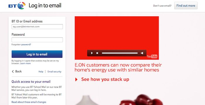 Bt Email Login Page Email Service Login Email