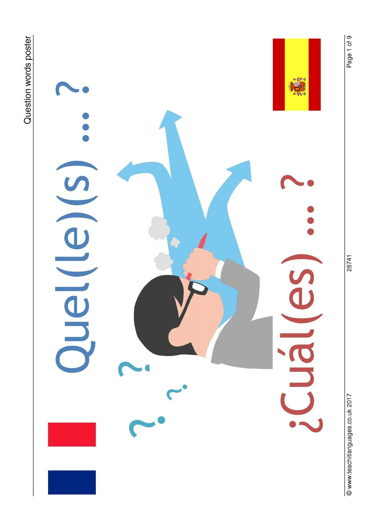 Latest Spanish teaching resources - printable worksheets ...