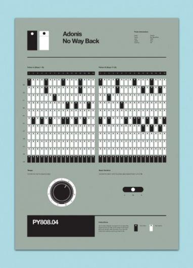 Classic Techno 808 Programming Posters » ISO50 Blog – The Blog of Scott Hansen (Tycho / ISO50)
