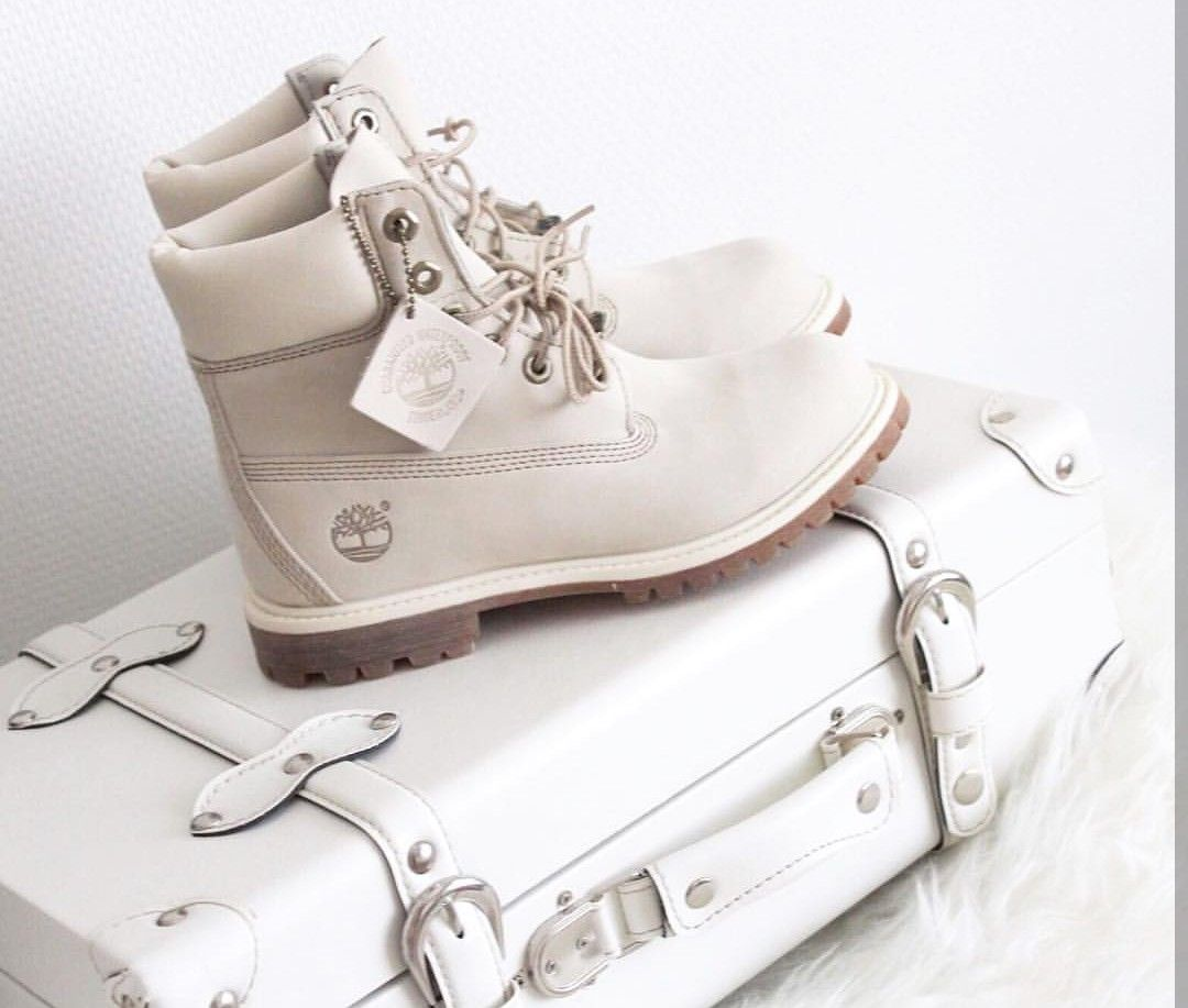 timeless design 81c44 17200 Timberlands Boots in weiß/white // Foto: s4nnis |Instagram ...