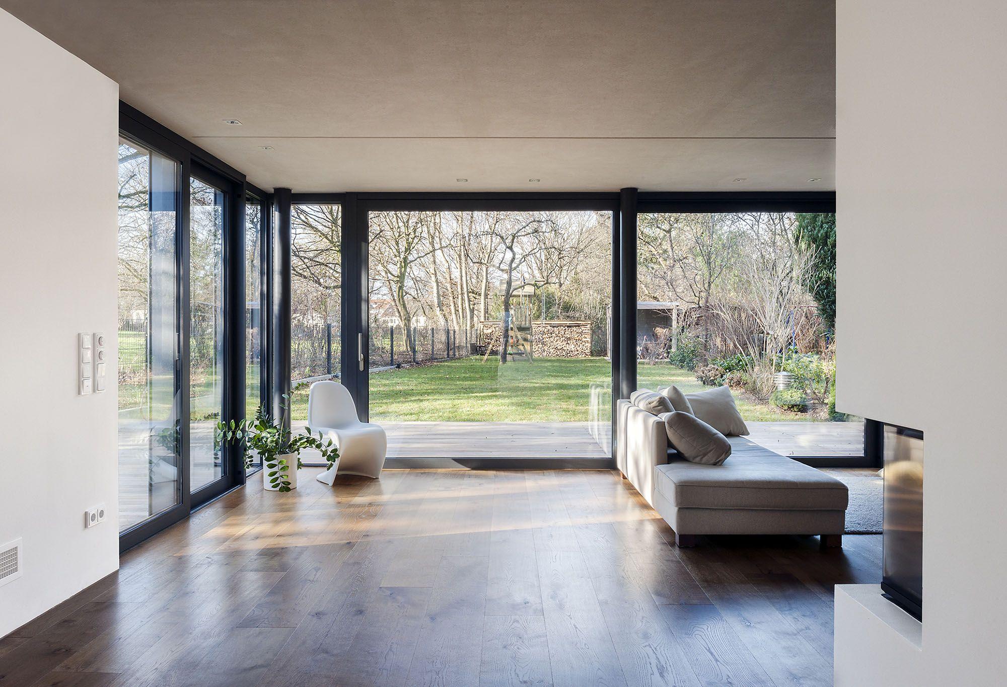 Neubau Reihen-Endhaus | Neubau, Fenster und Wohnzimmer