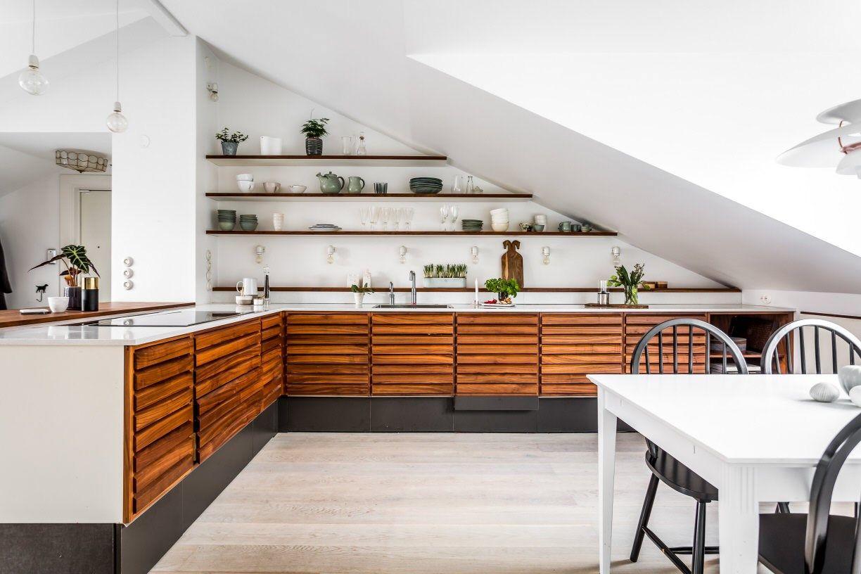 Cucina | mansarda | Pinterest | Küche dachschräge, Haus und Modern