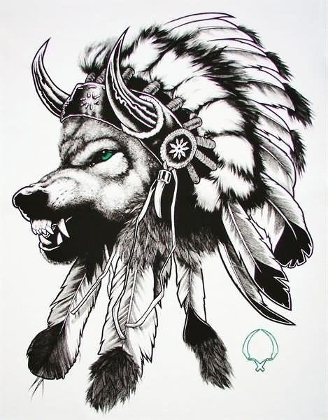 Indian Tattoo Images Designs Tatuagens Tribais De Lobos Tatuagens Indigenas Desenhos Para Tatuagem