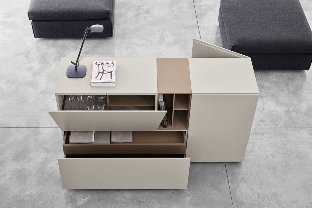 Storage Units For Every Space Brick By Caccaro Ciekawe  # Buffet Tele En Briques