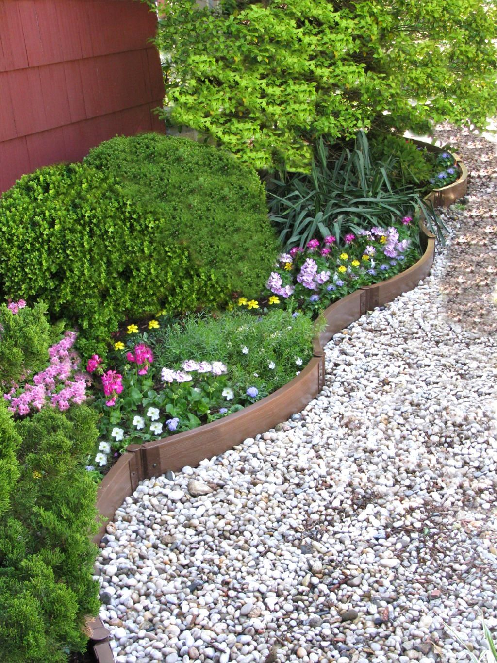 Front Garden Design Ideas Without Grass Front Yard ... on Backyard Landscaping Ideas No Grass id=89032