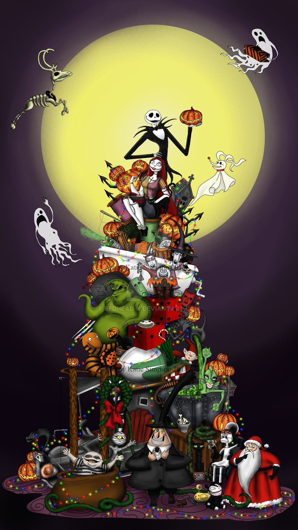 Happy 20th Anniversary Tnbc By Redhead K Nightmare Before Christmas Wallpaper Nightmare Before Christmas Tattoo Nightmare Before Christmas Drawings