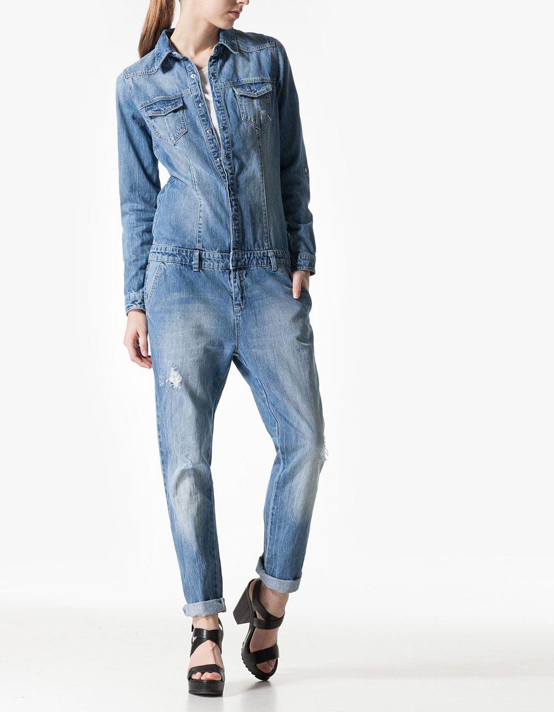 86c54d566a7 Τζιν ολόσωμη φόρμα | Things to Wear | Τζιν